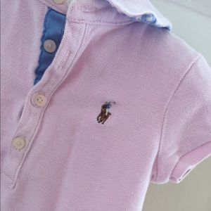 Ralph Lauren Dresses - Ralph Lauren Pink Polo Dress 2T